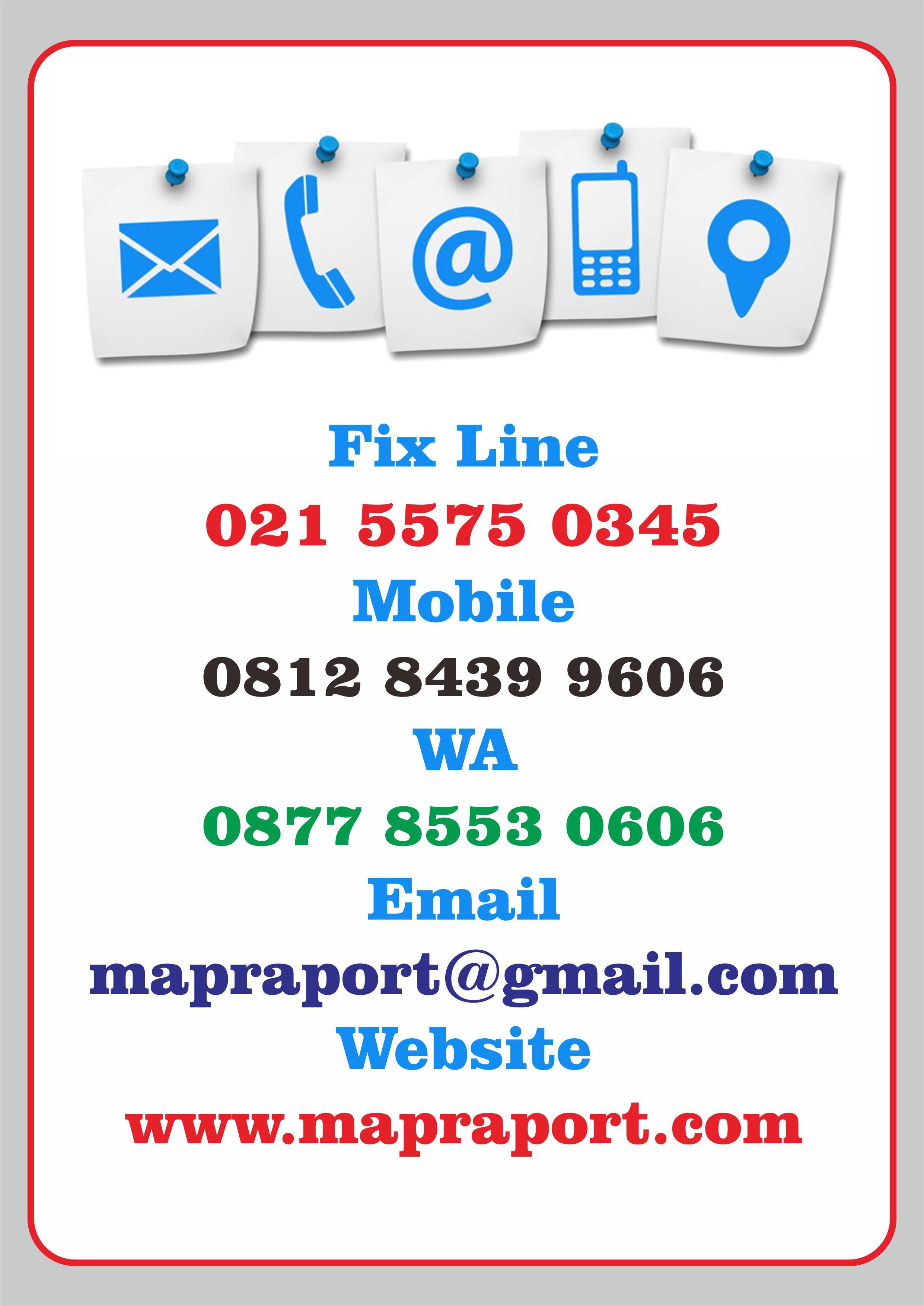 kontak mapraport